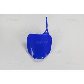 PLAQUE FRONTALE UFO BLEU YAMAHA YZ 125/250 00-05 & YZF 250/426/450 00-05
