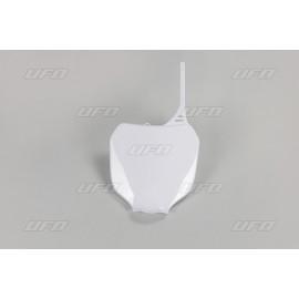 PLAQUE FRONTALE UFO BLANC YAMAHA YZ 125/250 00-05 & YZF 250/426/450 00-05