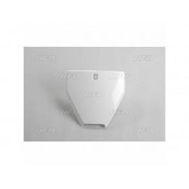 PLAQUE FRONTALE UFO BLANC HUSQVARNA FC 250/350/450 16-18 & TC 125/250 16-18