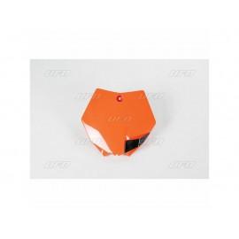 PLAQUE FRONTALE UFO ORANGE KTM SX 85 13-17