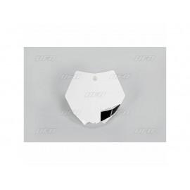 PLAQUE FRONTALE UFO BLANC KTM SX 85 13-17