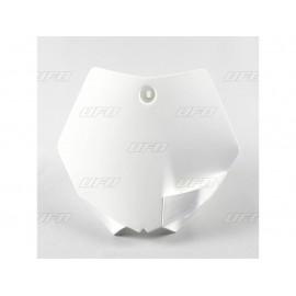 PLAQUE FRONTALE UFO BLANC KTM SX 09-15