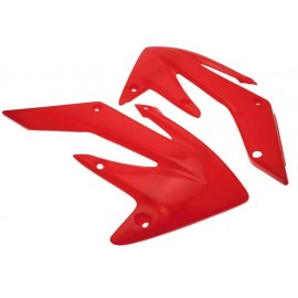 OUIES RADIATEURS UFO ROUGE HONDA CRF 250 04-09