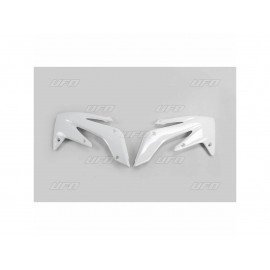 OUIES RADIATEURS UFO BLANC HONDA CRF 250 04-09