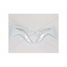 OUIES RADIATEURS UFO BLANC HONDA CRF 250 14-17 & CRF 450 13- 16