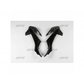 OUIES RADIATEURS UFO NOIRES KTM SX 65 16-19