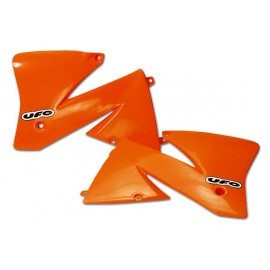 OUIES RADIATEURS UFO ORANGES KTM SX 85 04-05