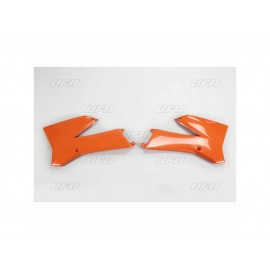 OUIES RADIATEURS UFO ORANGES KTM SX 85 06-12