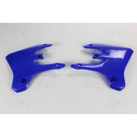 OUIES RADIATEURS SUPERIEURES UFO BLEUES YAMAHA YZF 250/450 03-05