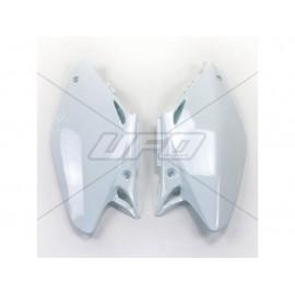 PLAQUES NUMERO LATERALES UFO BLANC HONDA CR 125/250 02-04