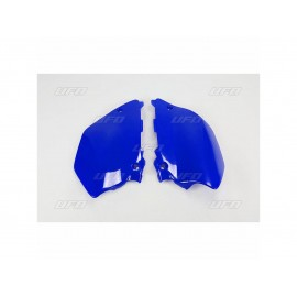 PLAQUES LATERALES UFO BLEUES YAMAHA YZ 125/250 06-14