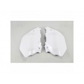 PLAQUES LATERALES UFO BLANC YAMAHA YZ 125/250 02-05
