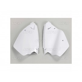 PLAQUES LATERALES UFO BLANC YAMAHA YZ 125/250 96-01