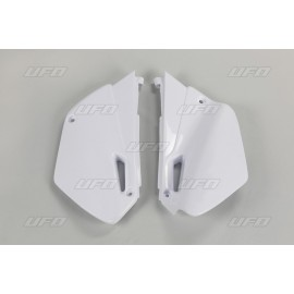 PLAQUES LATERALES UFO BLANC YAMAHA YZ 85 02-14