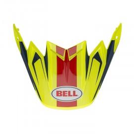 VISIERE BELL MOTO-9 FLEX VICE BLEU/JAUNE