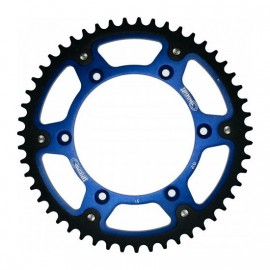 COURONNE SUPERSPROX STEALTH BLEU YAMAHA YZ / YZF / WRF