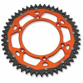 COURONNE MOOSE RACING BI-METAL ORANGE KTM