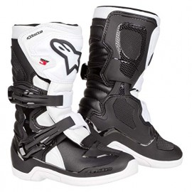 BOTTES ALPINESTARS TECH 3S BLACK WHITE
