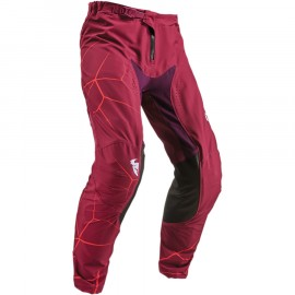 PANTALON CROSS THOR MX PRIME PRO INFECTION 2019 MAROON RED ORANGE