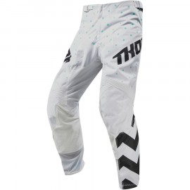 PANTALON CROSS THOR MX PULSE STUNNER 2019 NOIR BLANC