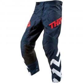 PANTALON CROSS THOR MX PULSE STUNNER 2019 MIDNIGHT BLANC
