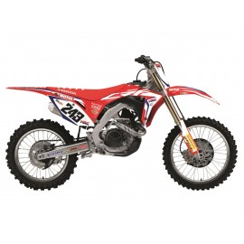 KIT DECO TEAM HRC REPLICA HONDA CR 125/250 02-07
