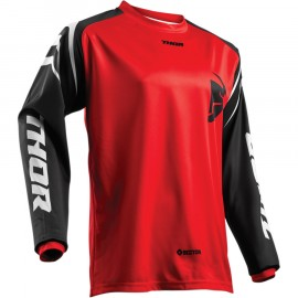 MAILLOT CROSS THOR MX SECTOR ZONES ROUGE