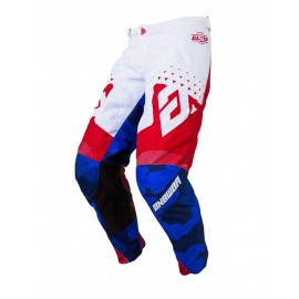 PANTALON ANSWER ELITE DISCORD ROUGE BLANC T.28 US DUP'MX