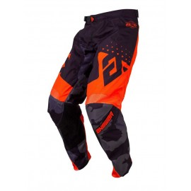 PANTALON ANSWER ELITE DISCORD NOIR ORANGE T.28 US DUP'MX